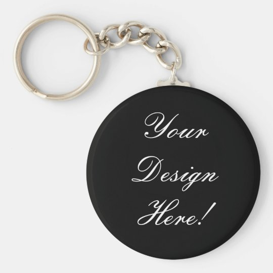 Your Design Here! Save the Date Wedding Keychain! Basic Round Button Key Ring