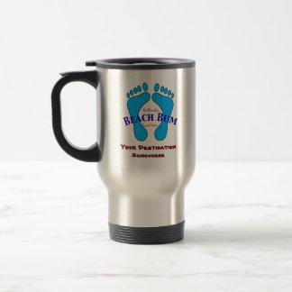 Your Destination on Authentic Beach Bum Beach Wear Coffee Mug