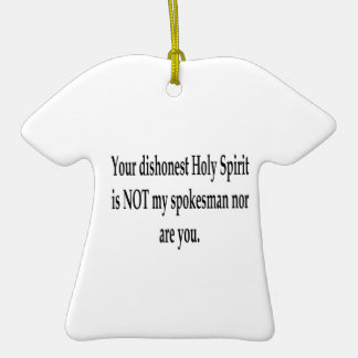 Your Dishonest Holy Spirit Christmas Tree Ornaments