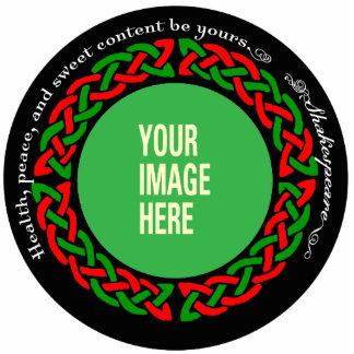 YOUR DOG Celtic Ornament Photo Sculpture Decoration