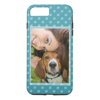 Your Dog & You Photo Customize Puppy Doggie Paws iPhone 8 Plus/7 Plus Case