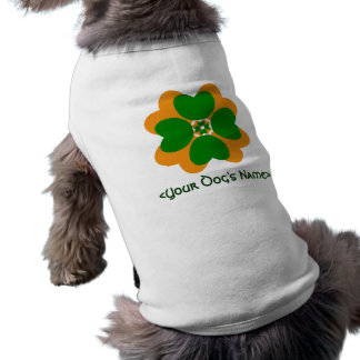 Your Dog's Irish Jacket Sleeveless Dog Shirt