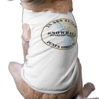 Your Dog's Name Nautical Dog Boater's Florida Shirt