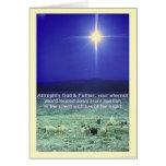 Your eternal word (Bethlehem) Xmas card