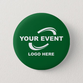 Your Event Logo Button Green or Pick Color