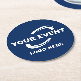 Your Event Logo Coasters Round - Choose Color