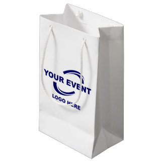 Your Event Logo Gift Bag Small