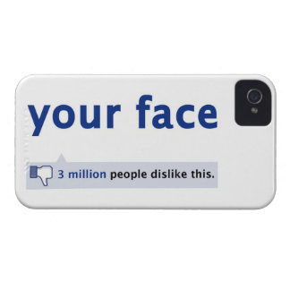 your face Blackberry Bold Case