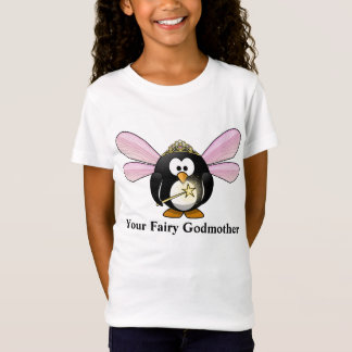 Your Fairy Godmother Cartoon Penguin Fairy T-Shirt