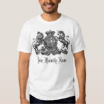 Your Family Name Customisable Crest T Shirt