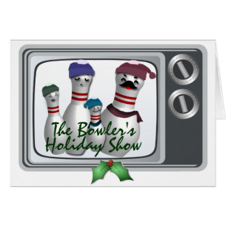 Your family's  Holiday Show Note Card