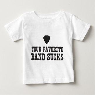 Your favorite band sucks tee shirt