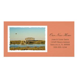 Your Framed New Home Photograph Custom New Address Custom Photo Card