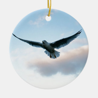 Your Free Just LIke Jonathan Livingston Round Ceramic Decoration