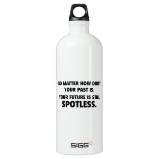 Your Future Is Still Spotless SIGG Traveller 1.0L Water Bottle