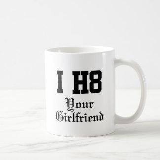 your girlfriend basic white mug