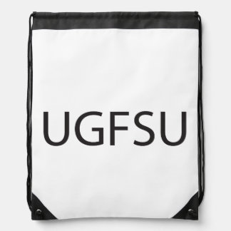 Your Girlfriend s Ugly ai Drawstring Backpack