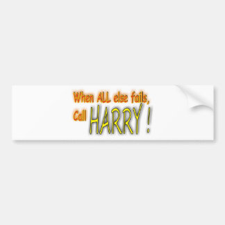 """Your """"Go To Guy"""" Bumper Sticker"""