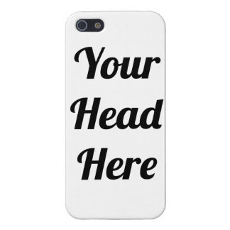 Your Head Joke Gift Personalised Photo Phone iPhone 5 Cases