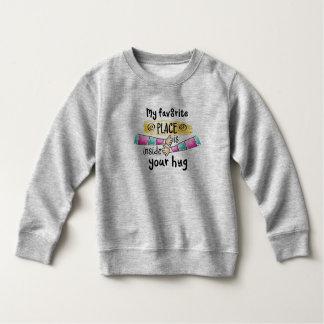 Your Hug My Favorite Place | Sweatshirt