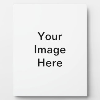 Your image here blank template plaque