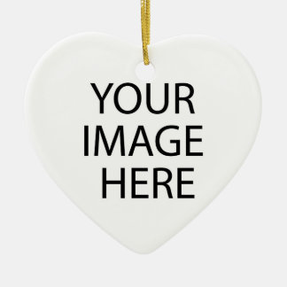 Your Image Here Heart Ornament