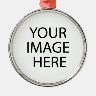 Your Image Here Premium Round Ornament