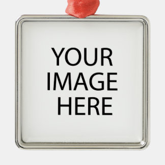 Your Image Here Premium Square Ornament