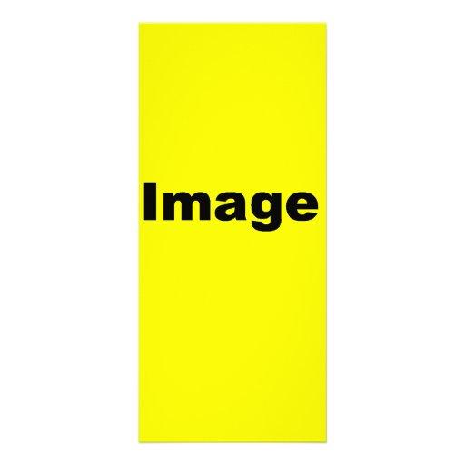Your Image Here Custom Rack Card