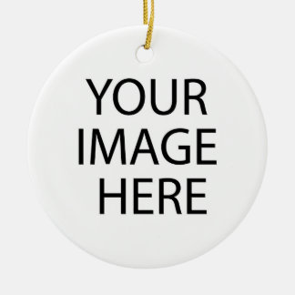 Your Image Here Round Ornament