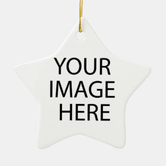 Your Image Here Star Ornament