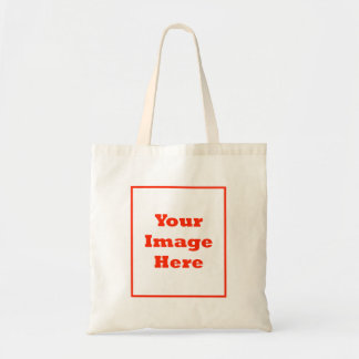 Your Image Here Vertical Canvas Bags