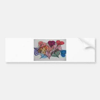 your in my heart bumper sticker