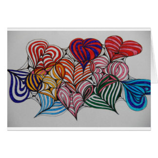your in my heart greeting card
