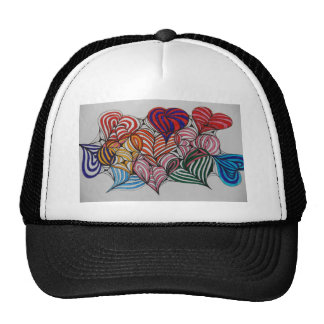 your in my heart mesh hats