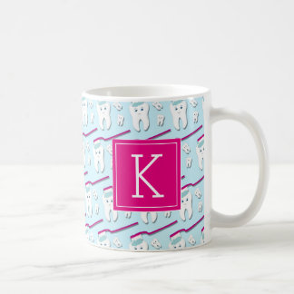 Your Initial | Cute Teeth Coffee Mug