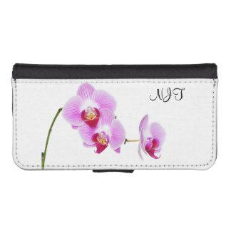 Your Initial/Monogram: Radiant Orchid Photo Phone Wallet Case