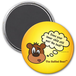 Your inner child has serious psychological issues 7.5 cm round magnet