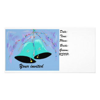 Your Invited wedding card Personalized Photo Card