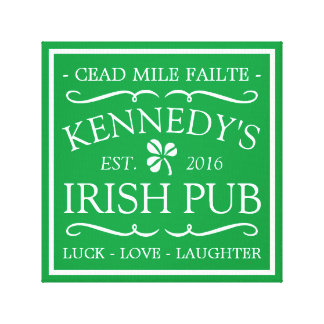 Your Irish Pub Canvas Print