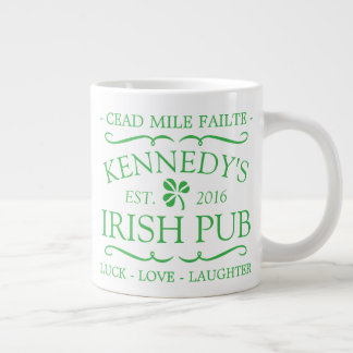 Your Irish Pub Large Coffee Mug