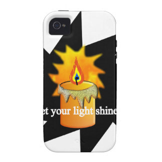your light.png iPhone 4/4S case