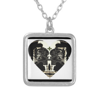 Your Love Is Weird Square Pendant Necklace