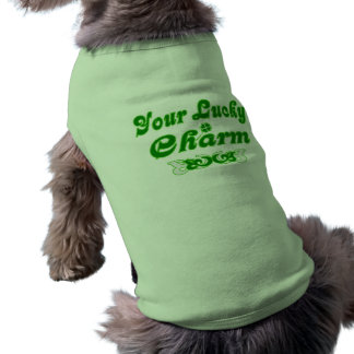 Your Lucky Charm Your Lucky Charm Sleeveless Dog Shirt