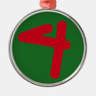 Your Lucky Number & Color. Christmas Tree Ornaments