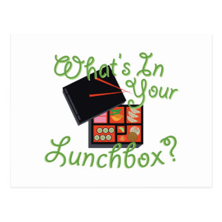 Your Lunch Box Postcard