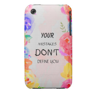 your mistakes don't define you Case-Mate iPhone 3 case