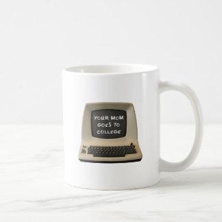 Your Mom Goes College Basic White Mug