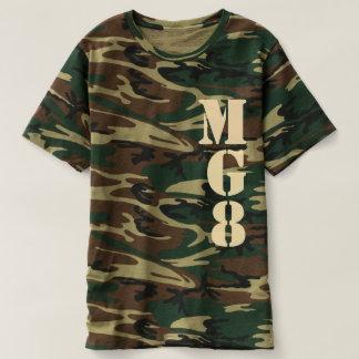 Your Monogram on Camouflage Decor Tees