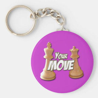 Your Move Key Ring